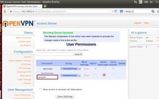 Настройка firewalld при работе с openvpn